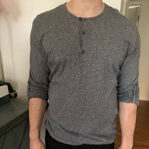 H&M Sweater w/ Long Sleeve Button Down